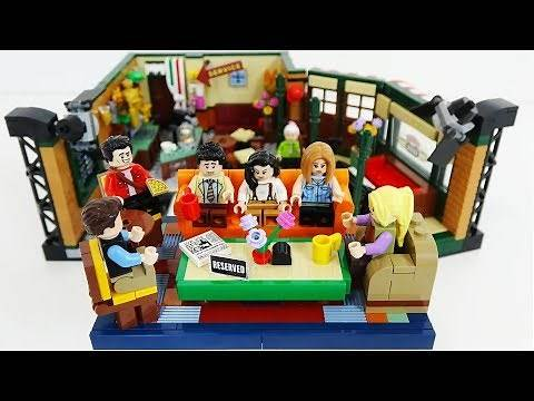 LEGO FRIENDS Central Perk IDEAS Set 21319 Review