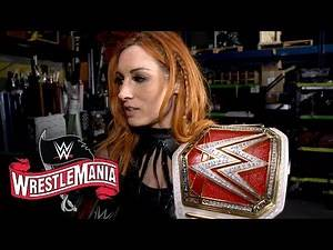 Becky Lynch shares a post-WrestleMania message with Shayna Baszler: WWE Exclusive, April 4, 2020