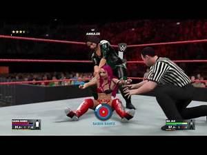 WWE 2K17 - Sasha Banks vs Nia Jax | RAW