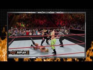 WWE 2K17 AJ Lee,Bayley VS Alexa Bliss,Nia Jax Elimination Tornado Tag Match