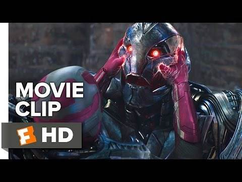 Avengers: Age of Ultron Movie CLIP - Ultron vs Vision (2015) - James Spader Movie HD