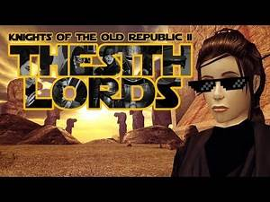 Star Wars Knights of the Old Republic 2: The Sith Lords - Character Creation