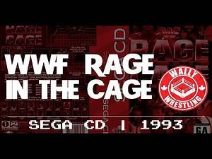 History of WWE Video Games - WWF Rage in the Cage (Sega CD)