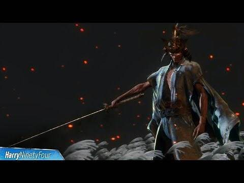 Sekiro Shadows Die Twice - Sword Saint Isshin Ashina Boss Fight (Final Boss)
