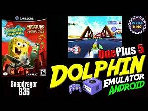 SpongeBob SquarePants: Creature from the Krusty Krab | OnePlus 5 Dolphin Emulator Android GamePlay