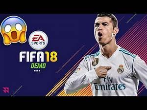 OMG PLAYING THE FIFA 18 DEMO!!🔥 - PLAYING THE FIFA 18 THE JOURNEY 2 DEMO!