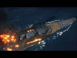 Very Beautiful Game about Warships ! Battleships and Destroyers of WW2 in World of Warships