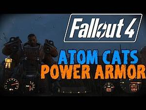 FALLOUT 4: Hot Flames Power Armor Location! - Atom Cats Garage - Fallout 4 Guides
