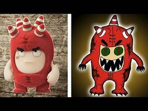 Oddbods Characters HORROR VERSION 😲😲😲