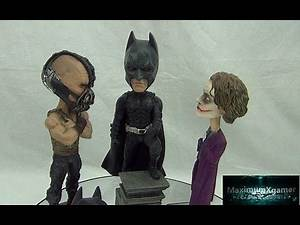 Batman Bane & The Joker Extreme Head Knockers Made By NECA Part 2