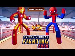 Spider Stickman Fighting 2020: Wrestling Games‏ android game