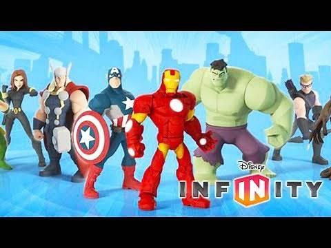 AVENGERS HULK Cartoon Game Videos for Kids - Video Games for Children - Disney Infinity 2.0
