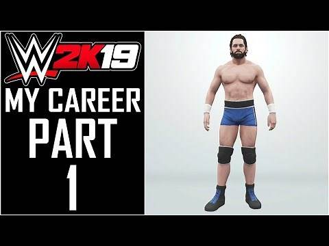 "WWE 2K19 - My Career - Let's Play - Part 1 - ""MyPlayer Creation"" 