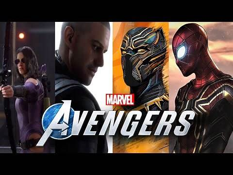 MARVEL'S AVENGERS GAME - NEW DLC CHARACTERS WITH RELEASE DATE!