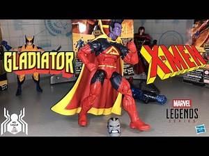 Marvel Legends GLADIATOR X-Men Wave 3 Apocalypse BAF Figure Review