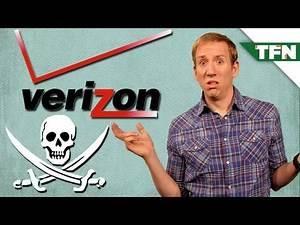 Verizon's Anti-Piracy Plan!