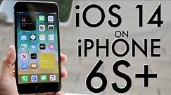 iPhone 6S Plus On iOS 14! (Review)