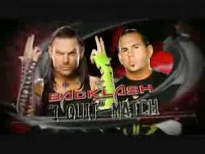 WWE Backlash 2009 MatchCard