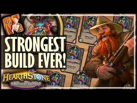 MY STRONGEST BUILD EVER?! - Hearthstone Battlegrounds
