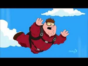 Peter Griffin Skydives