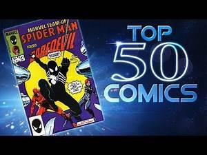 Top 50 Comics with First Appearances!
