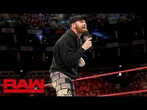 Sami Zayn promises to expose the truth about Bobby Lashley: Raw, May 14, 2018