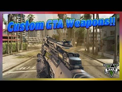 How to Install Weapon Mods on GTA V
