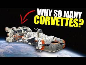 Why did the Rebels use SO MANY Corellian Corvettes (CR-90s)? | Star Wars Lore