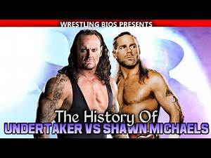 The History of Undertaker vs Shawn Michaels