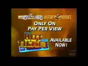 Titan's Hot Ticket PPV | Television Commercial | 1991 | Wrestlemania History & Heroes Extended