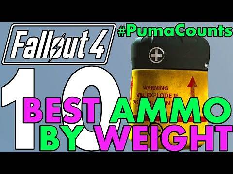 Top 10 Best Ammo Weight Types for Survival Mode in Fallout 4 #PumaCounts