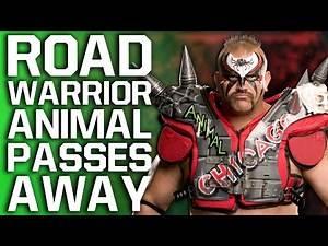 WWE Legend Road Warrior Animal Passes Away Aged 60