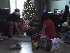 Christmas Morning 2012 - Opening Presents
