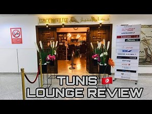 Tunis Carthage Airport | Business Lounge Review