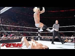 Dolph Ziggler vs. Alberto Del Rio - United States Championship No. 1 Contender's Match: Raw, July 7,