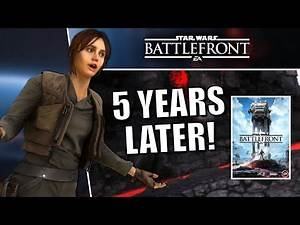 Star Wars Battlefront (2015) Five Years Later! - The Rough Journey of EA's First Star Wars Game!