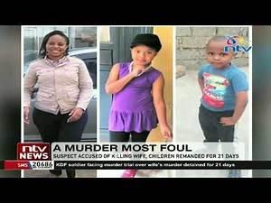 Nanyuki Murder: Major Peter Mugure, accused of killing wife, children remanded for 21 days