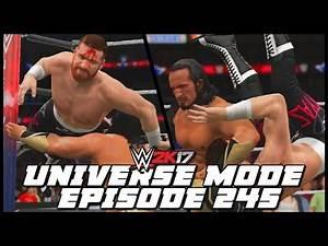 WWE 2K17 | Universe Mode - 'WRESTLEMANIA! (PART 7) | #245