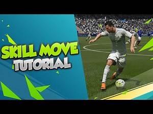 FIFA 16 SKILLS TUTORIAL - THE RONALDINHO ELASTICO TRICK - HOW TO BEAT PRESSURE PLAYERS