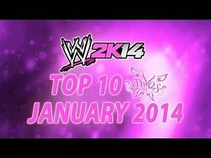 WWE 2K14 Top 10 Divas: January 2014