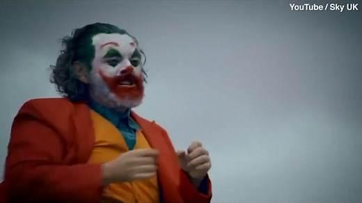Michael Sheen doubles as 'The Joker' for sketch show