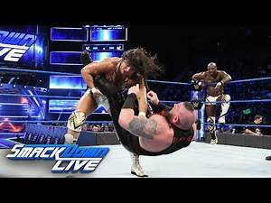 The Ascension vs. Chad Gable Shelton Benjamin: SmackDown LIVE, Feb. 6, 2018