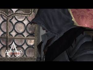 Ezio suits up for the first time - Assassin's Creed II : The beginning