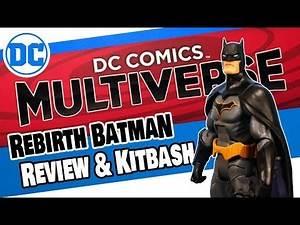 Mattel DC Comics Multiverse Batman Action Figure Toy Review & KITBASH