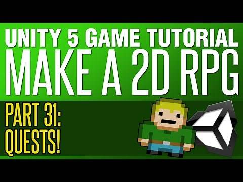 Unity RPG Tutorial #31 - Creating Quests!