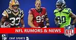 NFL Rumors: Jadeveon Clowney Latest? Aaron Jones Extension? JJ Watt? NFL News On Rule Changes