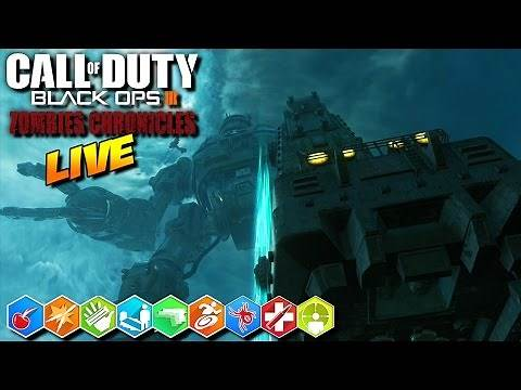 """Playing All 8 """"ZOMBIES CHRONICLES"""" Maps!!! 