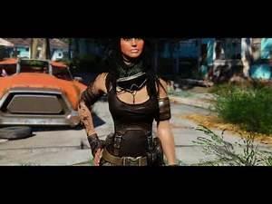 Fallout 4 Mod Showcase - Francesca's Outfit