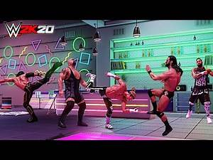 WWE 2K20 Top 10 Finisher Combinations! Part 7