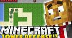 THE BEST TOWER DEFENSE GAME IN MINECRAFT - TOWER HOUR   JeromeASF